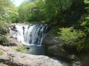 二段目の滝
